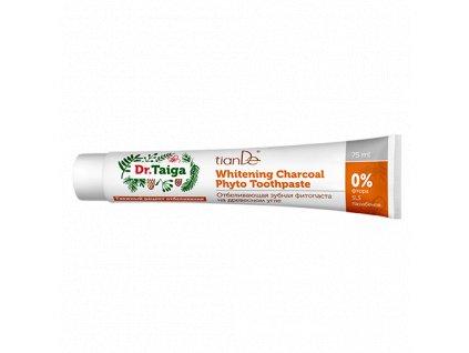 Bělicí zubní fyto-pasta na bázi dřevěného uhlí Dr. Taiga 75 ml  Body: 5,5