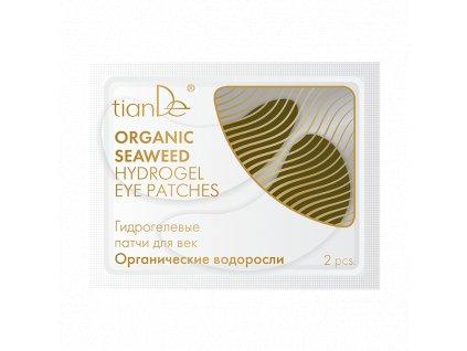 Hydrogelové polštářky pro oční víčka Organické řasy 2ks  Body: 3,3