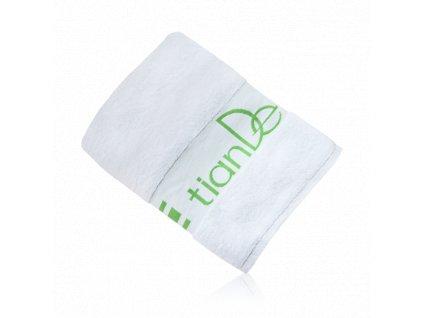 Froté ručník TianDe 70x140 cm zelené logo 1 ks  Body: 0,0