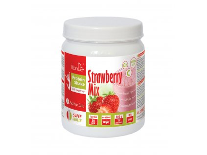 Koktejl proteinový Slim Mix jahoda se sladidlem, 300 g  Body: 23,0
