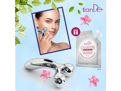 AKCE 3D masážní pomůcka pro lifting pokožky obličeje a těla + DÁREK Denní krém na obličej Senzace