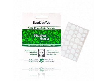 Hydrokoloidní náplasti na akné Master Herb 36ks  Body: 6,0