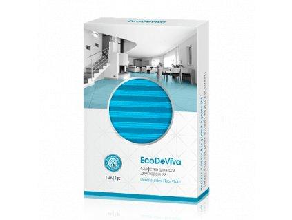 Oboustranný hadr na podlahu, 1ks Eco De Viva  Body: 12,0