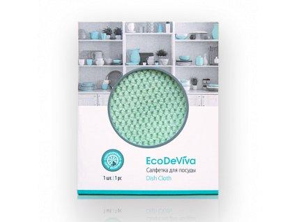 Hadřík na nádobí, 1ks Eco De Viva  Body: 4,0