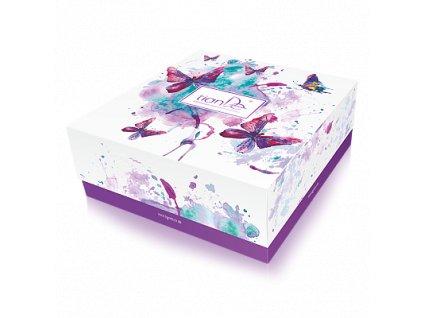 """Dárková krabička  """"Motýli"""" 1 ks  Body: 0,0"""