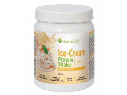 Zmrzlinový proteinový koktejl Active Life Mix s kolagenem 300g  Body: 19,5