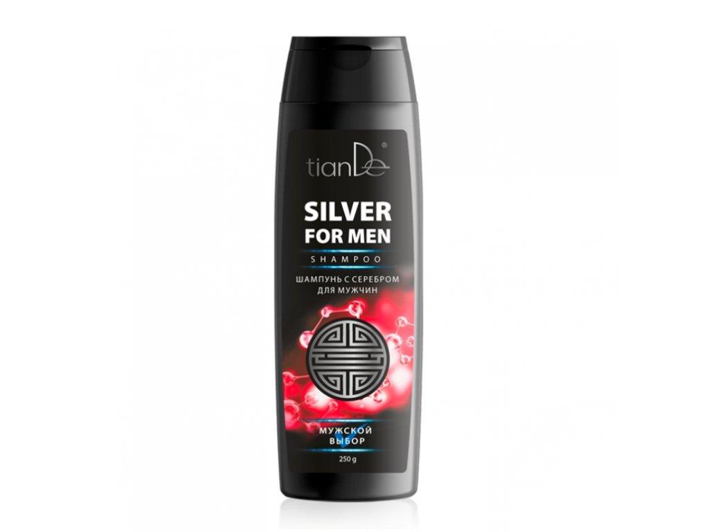 Šampon se stříbrem pro muže