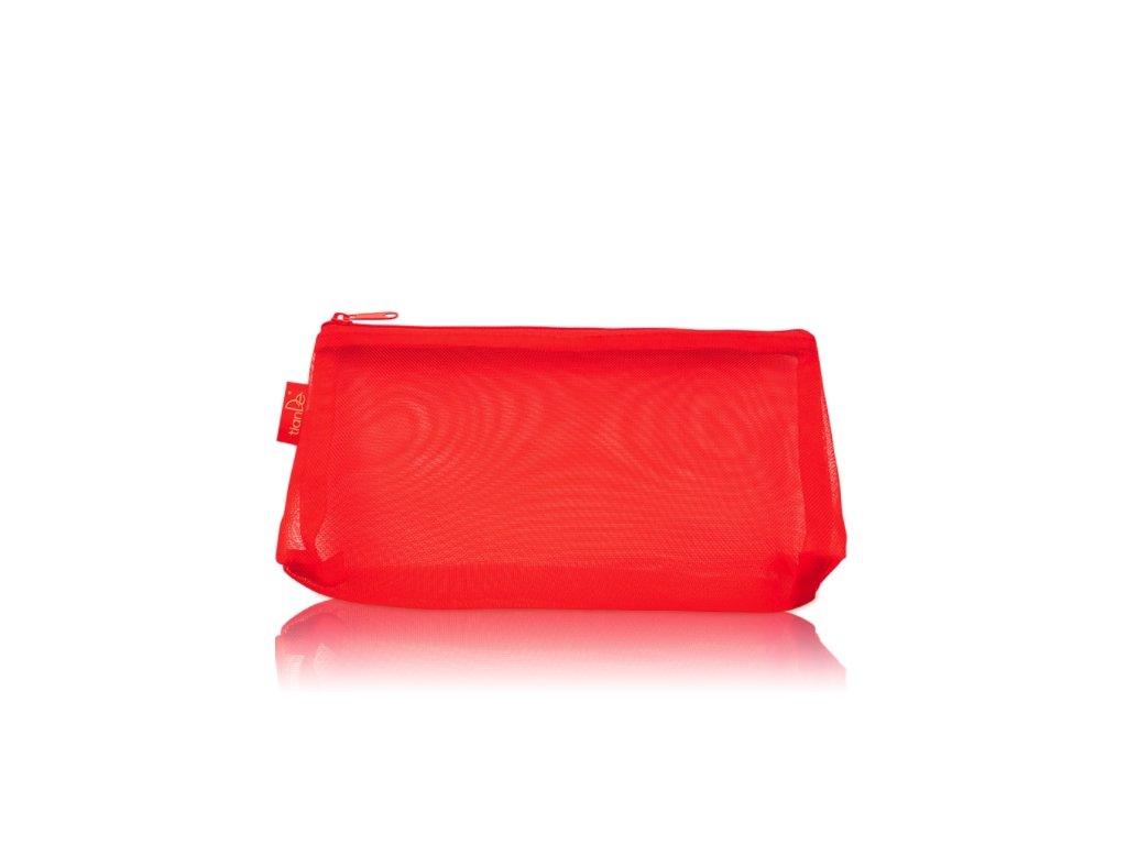 Taštička na kosmetiku TianDe červená, 1 ks  Body: 4.40