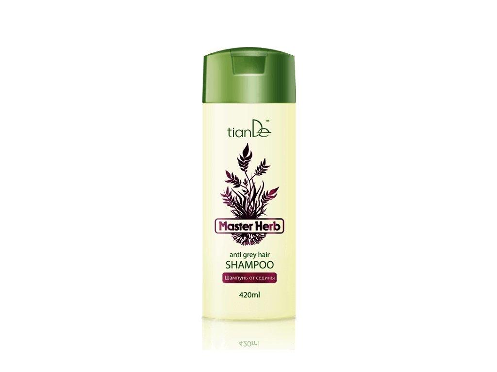 Šampón na šedivějící vlasy, 420 ml  Body: 12.30