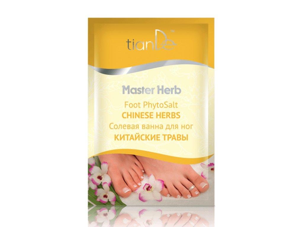 Solná koupel na nohy Čínské byliny
