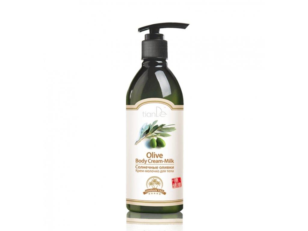 Krémové tělové mléko Slunečné olivy