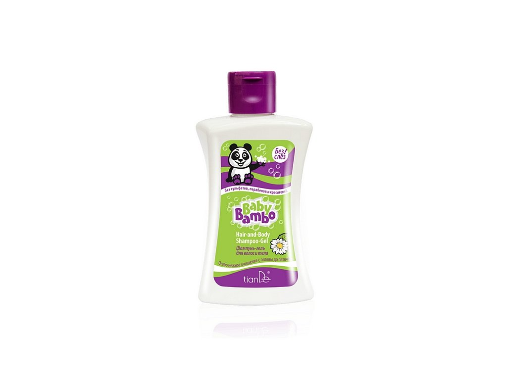 Šampon gel na tělo a vlasy Baby Bambo