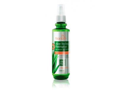 Stylingový sprej na vlasy s aloe
