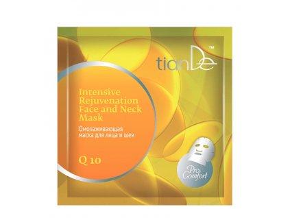 Intenzivní omlazující maska na obličej a krk Q10
