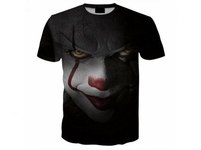 3D pánské černé tričko IT (Vel XXL)
