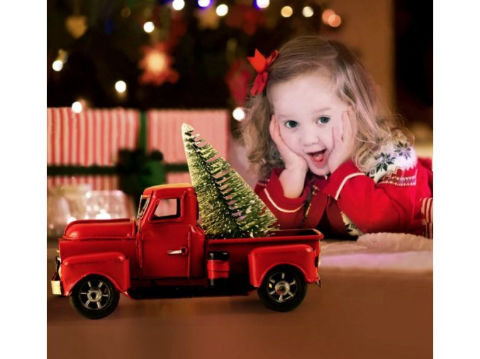 18393 auto vhodne ako dekoracia na vianoce