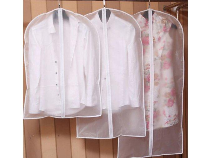 Cestovní ochranné obaly na oblečení obleky a šaty (Varianta: 4)