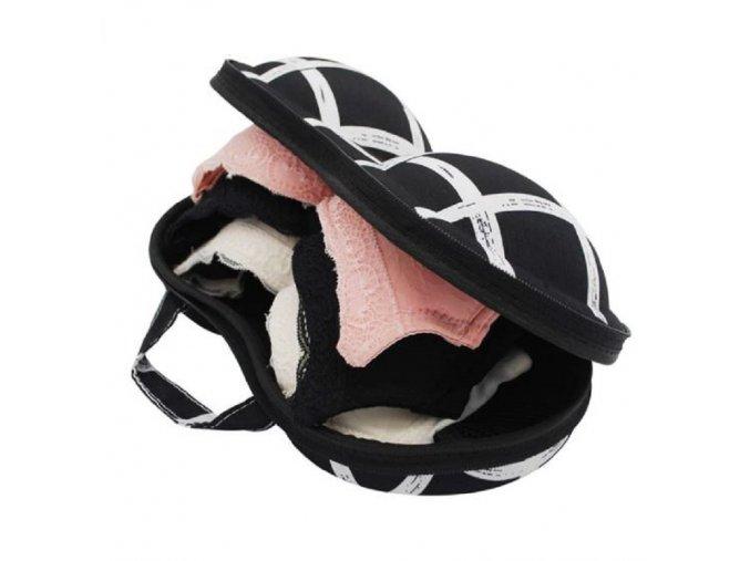 Cestovní obal na podprsenky a spodní prádlo (Varianta: 5)