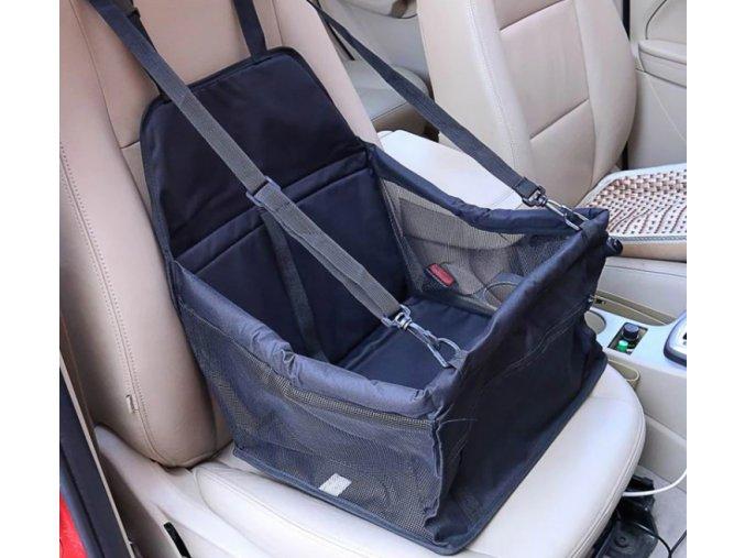 Cestovný prepravný vak taška do auta pre psov- viac farieb (Farba Červená)