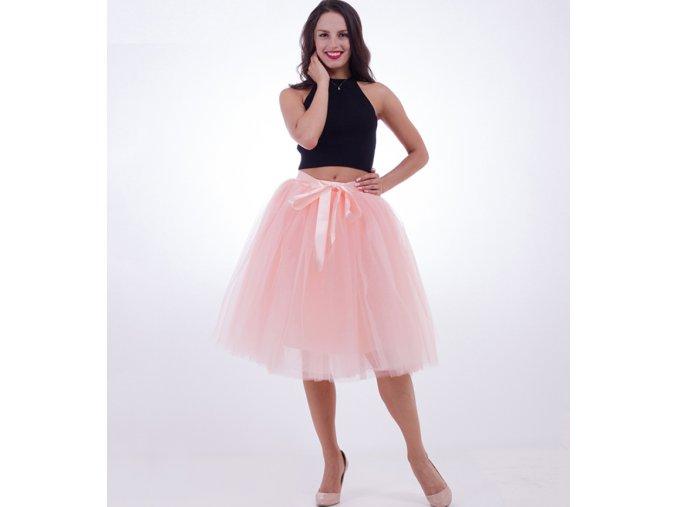 Dámská tutu tylová sukne na svadbu, ples- viac farieb (Varianta 1)