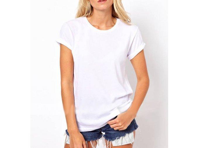 Dámské extra elegantní podzimní tričko s Andělskými křídly Bílé + DOPRAVA ZDARMA (Velikost XXL)