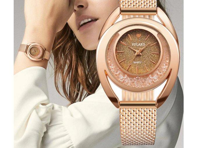 20130 damske elegantne naramkove hodinky darceky pre zeny