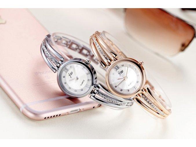 Luxusní dámské hodinky - SLEVA 50% (Barva Zlatá)