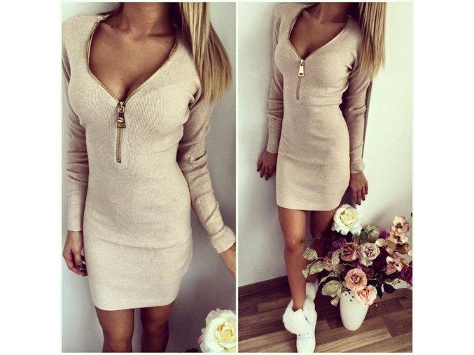 Luxusní dámské elastické šaty (Velikost XL)