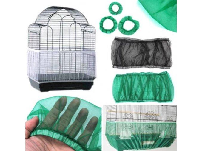 Nylonová sieťka do klietky pre jednoduché čistenie - klietka - klietka pre vtáky - výpredaj skladu