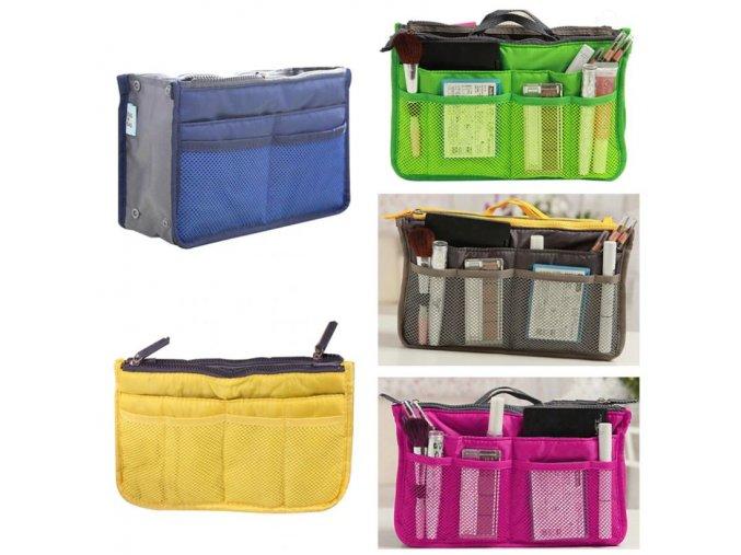 Taška - cestovná organizačné taška na kozmetiku - cestovanie - kozmetická taška