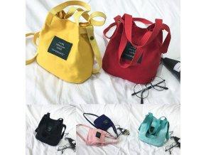 Dámské kabelky, více barev- Nápad na dárek pro přítelkyni k Vánocům nebo výročí (Barva Žlutá)