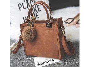 Dámské luxusní kabelky do ruky nebo přes rameno 4 barvy- Vhodný jako dárek k Vánocům pro ženy (Barva Šedá)