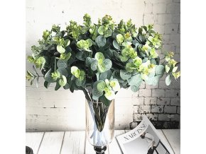 18261 dekoracie zahradne dekoracie jesenne dekoracie umele kvety lacne umele kvety ako zive 16 kusov eukalyptu