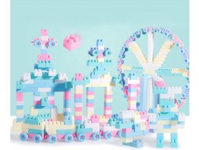 18999 detske hracky stavebnice 100 ks v pastelovych farbach darceky pre deti