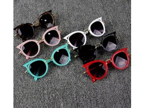 Detské slnečné okuliare pre dievčatá i chlapcov (Farba Biela)