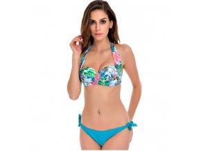 Svěží dámské dvoudílné plavky na pláž (Velikost XXL)