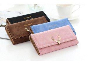 Luxusní dámská peněženka - SLEVA 30% (Barva Růžová)