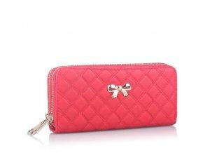 Elegantní dámská peněženka pro každého (Barva Růžová)