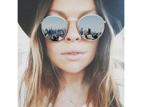 Elegantní slnečné okuliare Zrkadlovky (Velikost Červená)