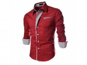 Pánská elegantní košile (Barva Černá, Vel XXL)