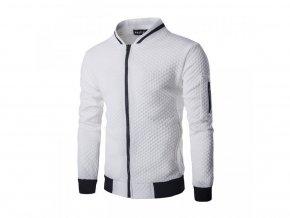 Pánská lehká bílá bunda (Vel XL)