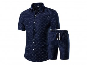 Pánská souprava košile a kraťasy (Vel XXL)