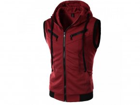 Pánská sportovní červená vesta (Vel XXL)