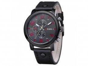 7931 panske cierne kozene hodinky