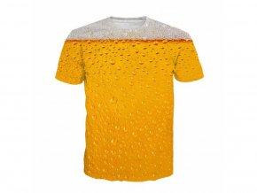 Pánské vtipné tričko s pivem (Vel XXL)