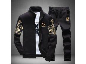 Pánský set mikina s kalhoty 3 varianty NEW (Barva Černá, Vel XXL)