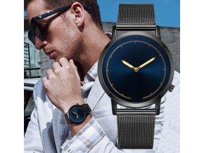 Pre mužov - Elegantné pánske hodinky 2 varianty- Tip na darček k Vianociam (Farba Strieborná)