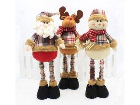 Vianočná dekorácia, veľké retro vianočné ozdoby do domu 47cm (Obrázok Santa)