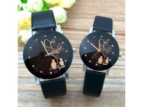 Vianočné darčeky  - štýlové hodinky pre páry (Velikost Pánske)