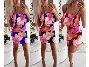 Dámské plážové letné šaty až 2XL